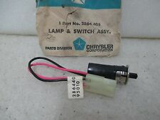 """Mopar """"NOS"""" 1969-70 Chrysler and Imperial Glove Box Lamp and Switch 2864405"""