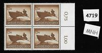 MNH Stamp Block Hero's day 1944 / Third Reich Military Wehrmacht Assault Boat
