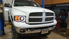 Dodge Ram 1500 2500 3500 Headlights Retrofit CCFL Projector 2002 2003 2004 2005