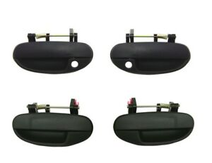 Set 4 Outside Exterior Door Handle for Daewoo Lanos 98-02