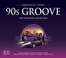 90S GROOVE GREATEST EVER 3 CD NEU TRICKY/GUSTO/CHAD JACKSON/FREAK POWER/MOLOKO