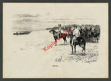 F. Myrbach Armee Kaiser Franz Josef I. Truppenparade Manöver Habsburg Heer 1888