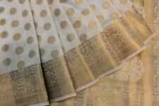INDIAN TRADITIONAL ETHNIC BANARASI SILK SAREE SARI BRIDAL PARTY WEAR DRESS