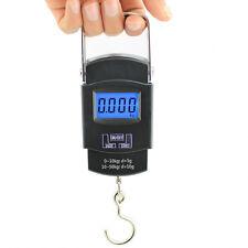 Digital Electronic Portable Pocket Hanging Travel Luggage Scale 50kg / 110lb
