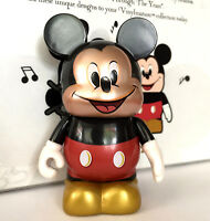 """DISNEY VINYLMATION 3"""" THROUGH THE YEARS MODERN MICKEY MOUSE 1928 COLLECTIBLE TOY"""
