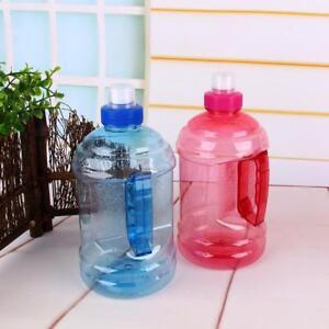 1/2L Big Large BPA Drink Water Bottle Cap Kettle PET Sport Gym Training Party