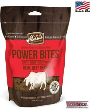 Natural Healthy Merrick Beef Bites Training Dog Treats Grain Free Made in USA