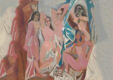 Les Demoiselles, 1907, PICASSO, Cubism, Surrealism, Expressionism Art Poster