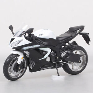 1/12 Scale Kawasaki Ninja ZX-6R ZX6R Bike Diecast Toy Model Motorcycle Automaxx