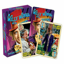 Willy Wonka & The Chocolate Factory - Playing Cards by Aquarius