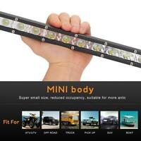 14 Inch 36W LED Work Light Bar Ultra Thin Waterproof Offroad Car Driving Lamp