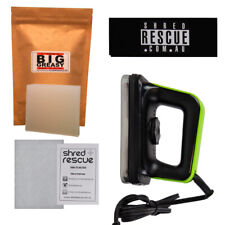 DIY Ski & Snowboard Waxing Kit + Demon Waxing Iron - Wax, Scraper, Iron & Guide