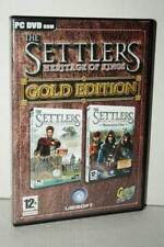 THE SETTLERS HERITAGE OF KINGS GOLD EDITION USATO PC DVD VER ITALIANA GD1 54309