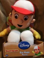 Handy Manny Plush Doll NeW in Box Disney Big Hugs Manny 6+ Mos and up