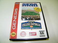 College Football's National Championship (Sega Genesis, 1994)