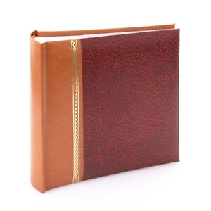 """Kenro Grace Series Faux Leather Photo Album 6x4"""" 100 Slip-in Pages - KD107"""