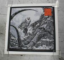 "PEARL JAM Gigaton 30"" Album Artwork Poster Ken Taylor Signed #191/200 NEW"