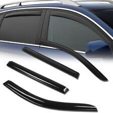 FOR 2006-2010 BMW 535I/530XI/535XI WAGON SIDE WNDOW VISOR RAIN GUARD VENT SHADE
