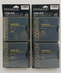 NEW Lot of 2 Kenwood CDM-600 6 Disc Magazine Cartridge CD Changer Total 24 Discs