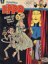 STRIPWEEKBLAD EPPO 1981 nr. 03 - AGENT 327 (COVER)/VARIOUS COMICS