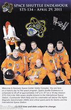 STS-134 Envelope with Insert PLUS BONUSES - FREE DELIVERY IN THE USA
