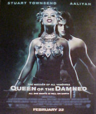 """AALIYAH~TOWNSEND """"QUEEN of the DAMNED"""" SI~FI MOVIE AD"""