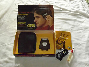 VINTAGE 1975 SUNBEAM MISTER TOUCH UP ELECTRIC HAIR TRIMMER UNUSED IN BOX NOS