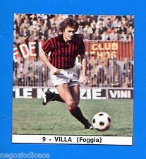 IL MONELLO CALCIO 73-74-Figurina-Sticker n. 9 - VILLA - FOGGIA
