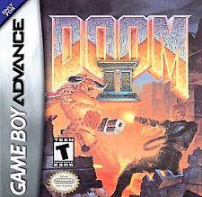 Doom II - Game Boy Advance GBA Game