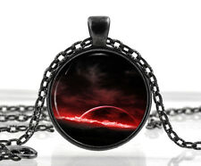Fantasy Jewelry - Galaxy Pendant - Black Space Necklace - Unique Gifts for Women