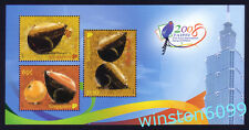 Singapore 2008 Zodiac Year of the Rat - Taiwan Taipei Stamps Expo Mini-Sheet