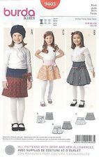 burda 9403 Girls' Skirt 3, 4, 5, 6, 7, 8    Sewing Pattern