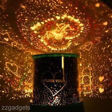 Romantic Sky Star LED Night Light Projector Lamp Romance Decor Random Color
