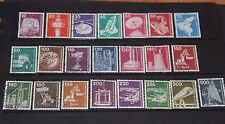 GERMANY 1975 INDUSTRY & TECHNOLOGY ISSUES IN SET OF 22 FINE USED
