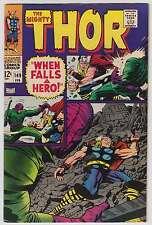 L3393: Thor #149, Vol 1, VF-VF+ Condition