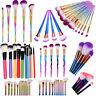 Pro Makeup Brushes Set Eyeshadow Eyeliner Lip Blush Brush Powder Foundation Tool