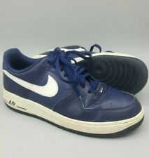 5ff9cc199b5a Nike air force 1 Navy white 488298-436 Sz 10 used