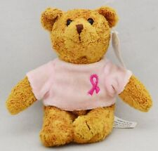 Breast Cancer Crusade Beanie Bear Avon New With Tags Sealed Bag!
