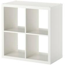 IKEA KALLAX Regal weiß 77 x 77 x 39cm Bücherregal Wandregal Sideboard WEISS NEU