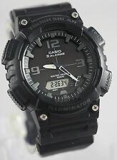 Casio Model SOLAR POWER World Time 5 Alarms 100m Watch AQ-S810W-1A2 New