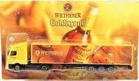 Grell 1/64 Diecast Tractor Trailer Wilthener Goldkrone Liquor Mercedes Tractor