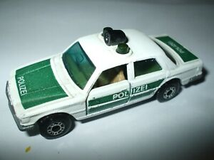 Matchbox Lesney Superfast #56 Mercedes Benz 450SEL Police Car in white NMINT!