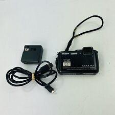 Nikon Coolpix AW120 16.0MP Digital Camera - Black