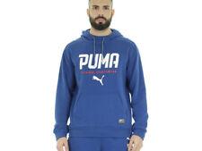 Abbiglimento sportivo da uomo Felpa blu taglia M