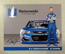 Dale Earnhardt Jr. #88 Nationwide NASCAR Sprint Cup 2016 Photo Hero Postcard