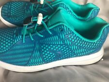 clarks airspring teal trainers lightweight size 4 wore once