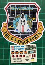 Starcom Starwolf custom vintage decals/stickers die cut best quality