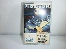 K7 LUCKY PETERSON Beyond cool GITANES JAZZ 512147 4 STICKER