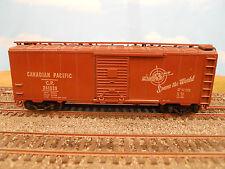 "HO SCALE KAR-LINE CANADIAN PACIFIC ""SPANS THE WORLD"" #241039 40' BOX CAR"