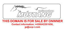 Domain: mustang-online-shop(dot)com